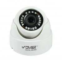 Видеокамера цветная купольная Divisat DVC-D892 v3.0 2Мп 2.8мм UTC