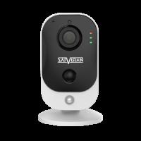 Пластиковая компактная IP-видеокамера Satvision с Wi-Fi модулем SVI-C223AW v2.0 2Mpix 2.8mm